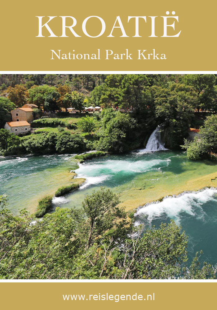 De prachtige watervallen in National Park Krka - Reislegende.nl