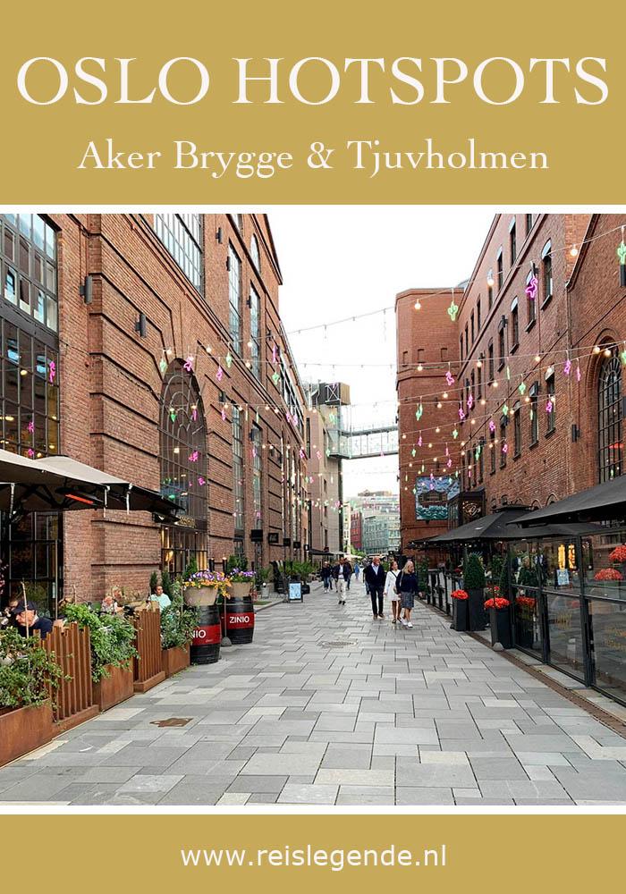 Ontdek Aker Brygge en Tjuvholmen tijdens Oslo citytrip - Reislegende.nl