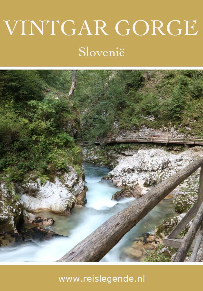 Vintgar kloof Slovenië - AllinMam.com