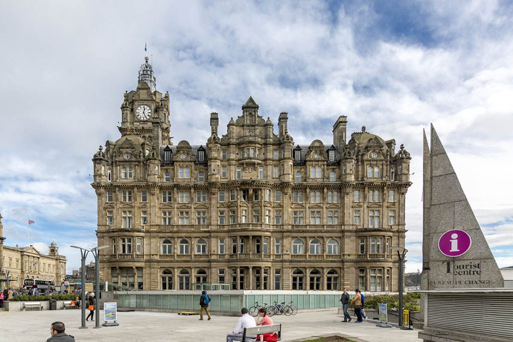 The Balmoral Hotel, Harry Potter locaties in Edinburgh - Reislegende.nl