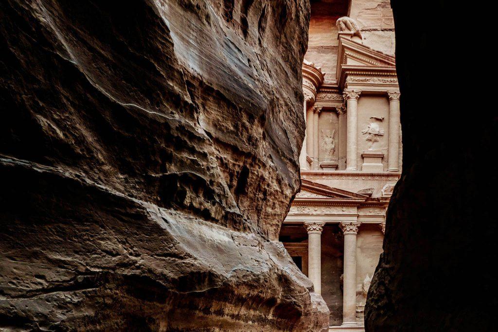 The Treasury - Tips voor een bezoek aan Petra, wereldwonder in Jordanië - Reislegende.nl
