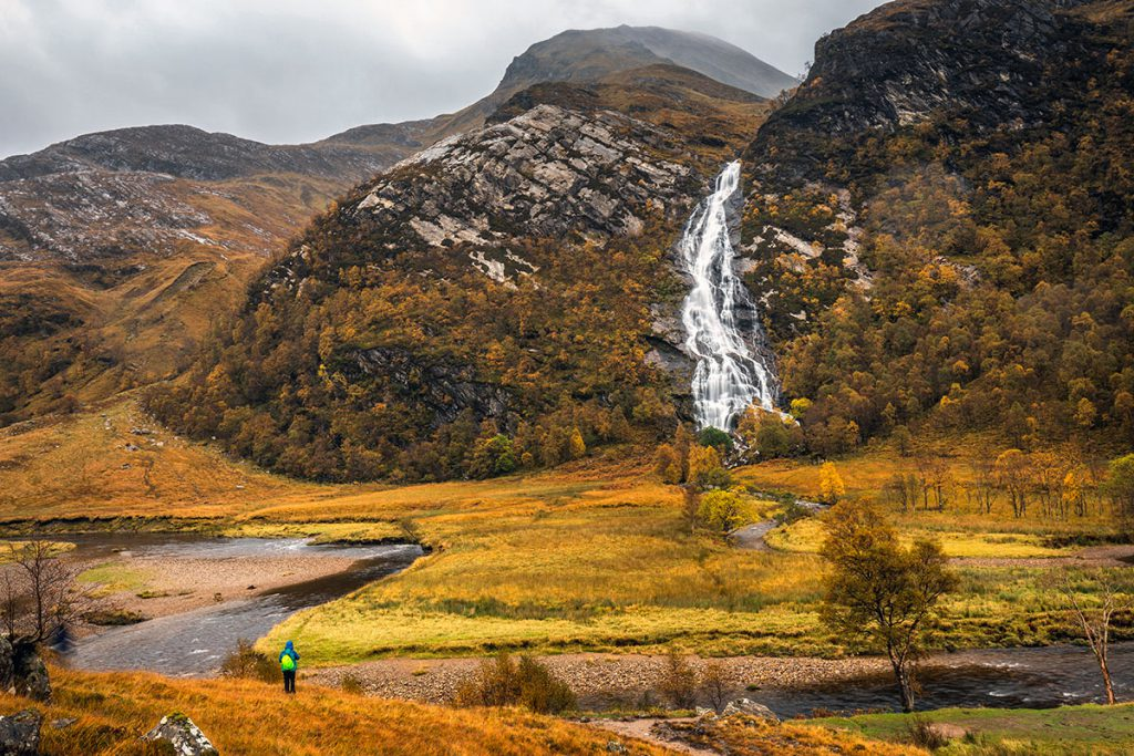 Steall Falls, Harry Potter filmlocaties in Schotland - Reislegende.nl