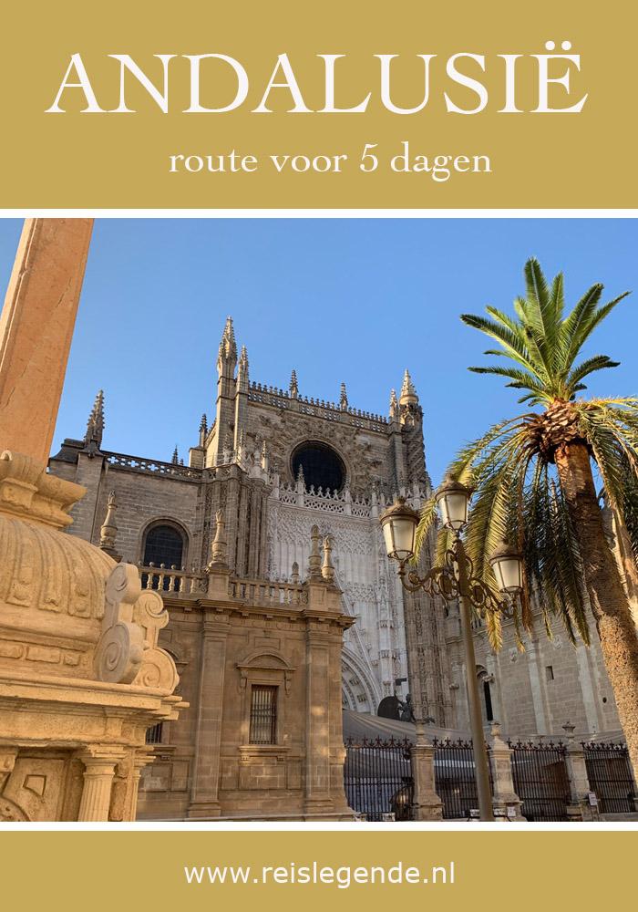 Andalusië ontdekken in 5 dagen: route en tips - Reislegende.nl