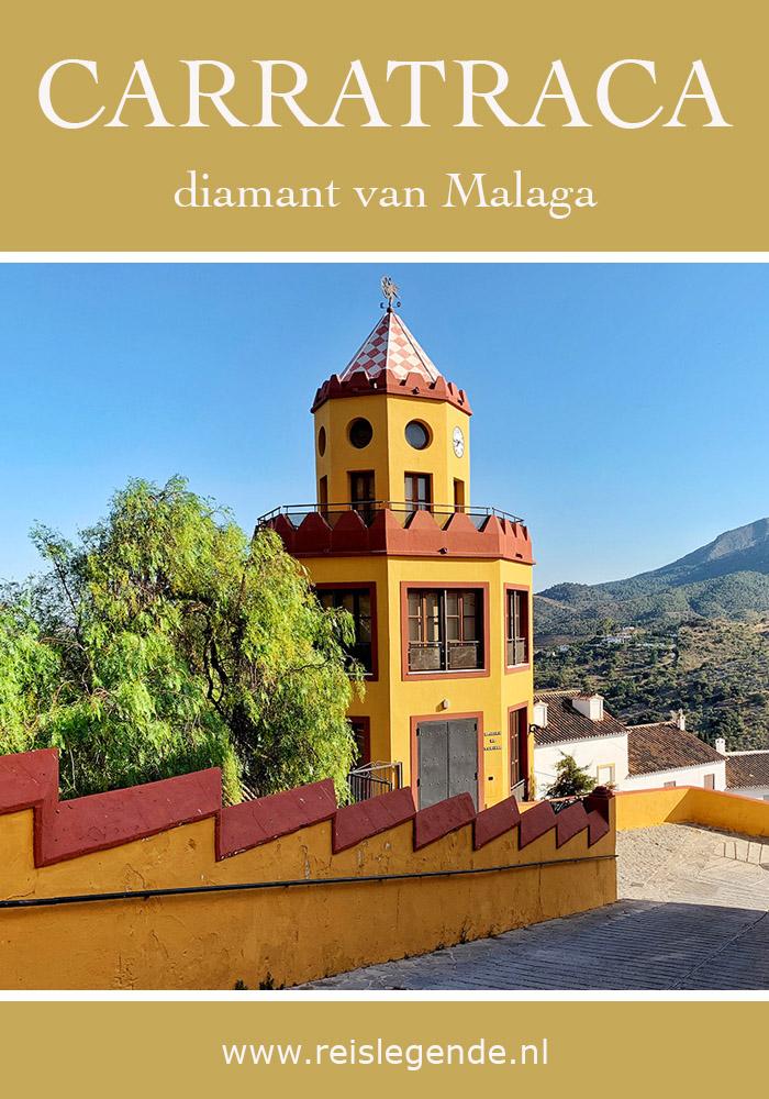 Carratraca, bescheiden dorp in de heuvels van Malaga - Reislegende.nl