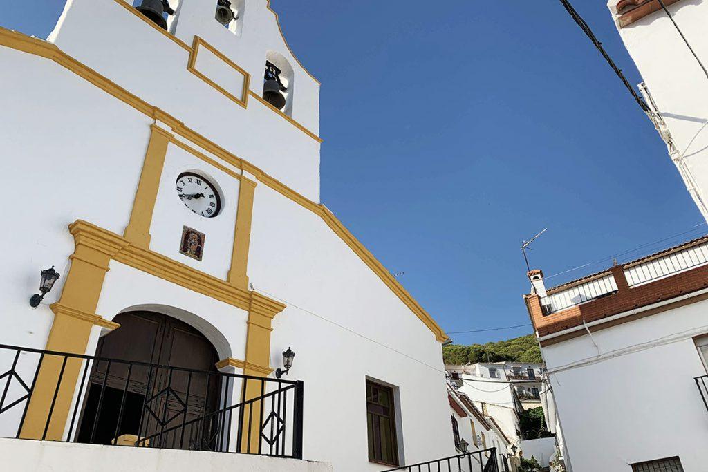 Nuestra Señora de la Salud - Carratraca, bescheiden dorp in de heuvels van Malaga - Reislegende.nl