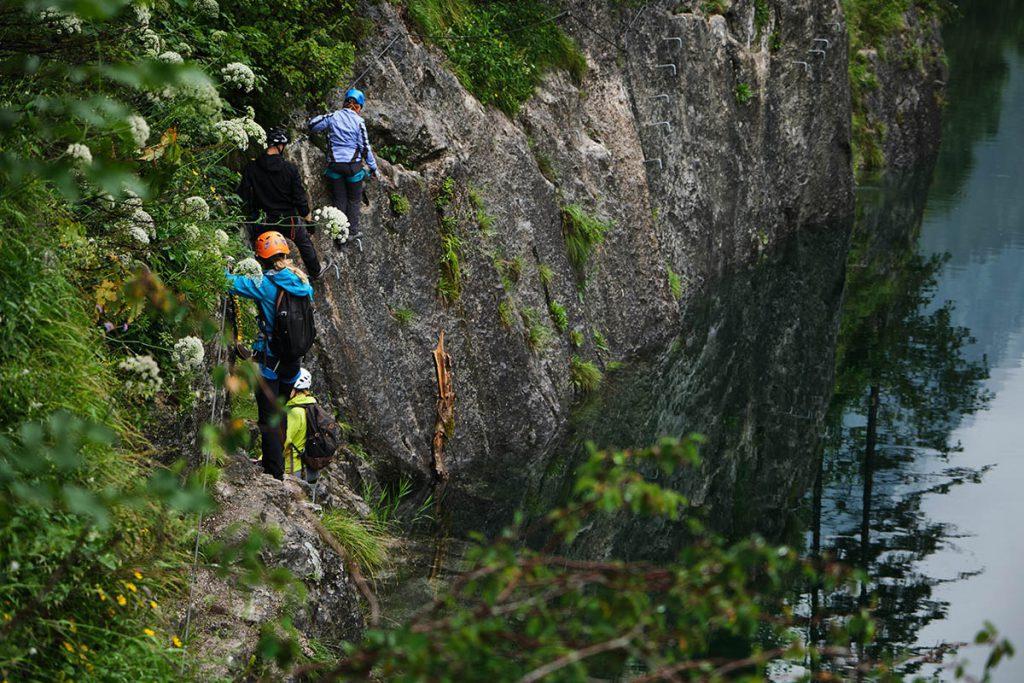Klettersteigen bij de Gosausee - Reislegende.nl