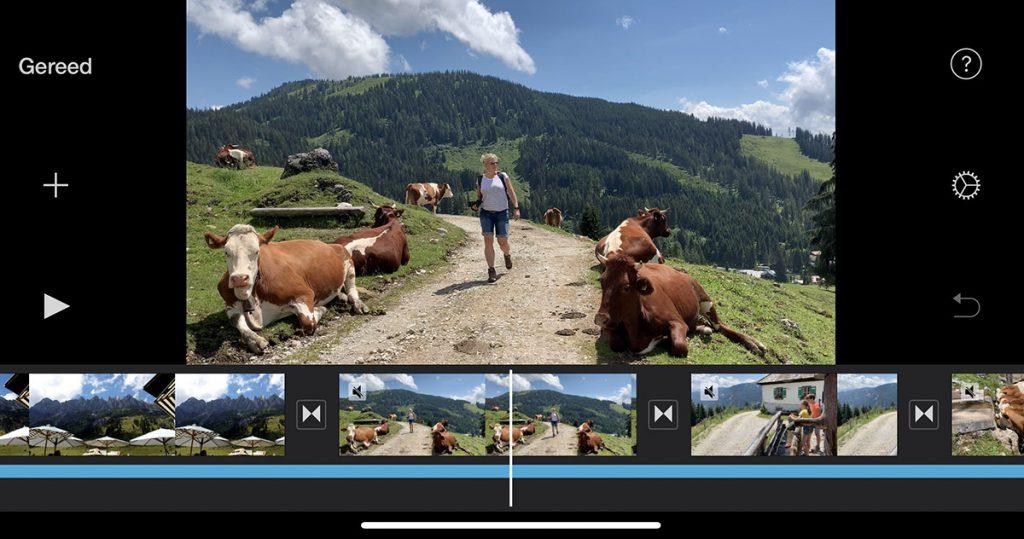 Video monteren met de iPhone 11 Pro - Reislegende.nl
