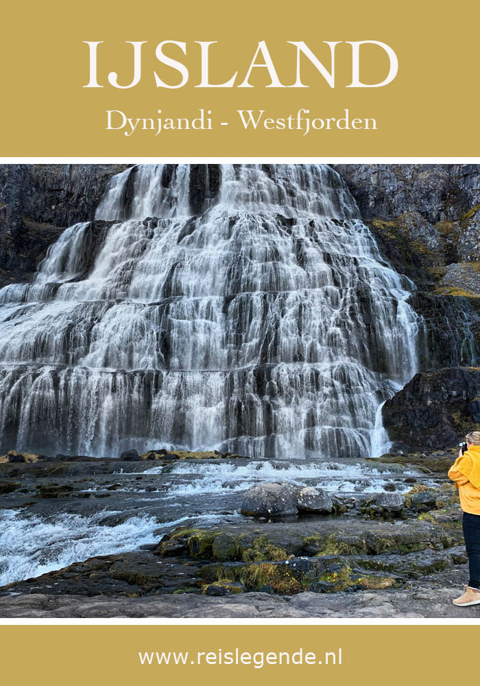 Watervallen onderaan de Dynjandi Westfjorden Reislegende - Reislegende.nl