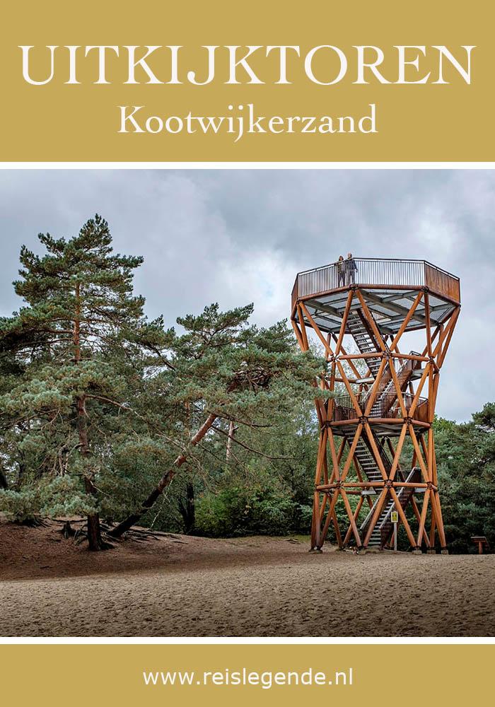Kootwijkerzand uitkijktoren, zicht op grootste stuifzandgebied van West-Europa - Reislegende.nl
