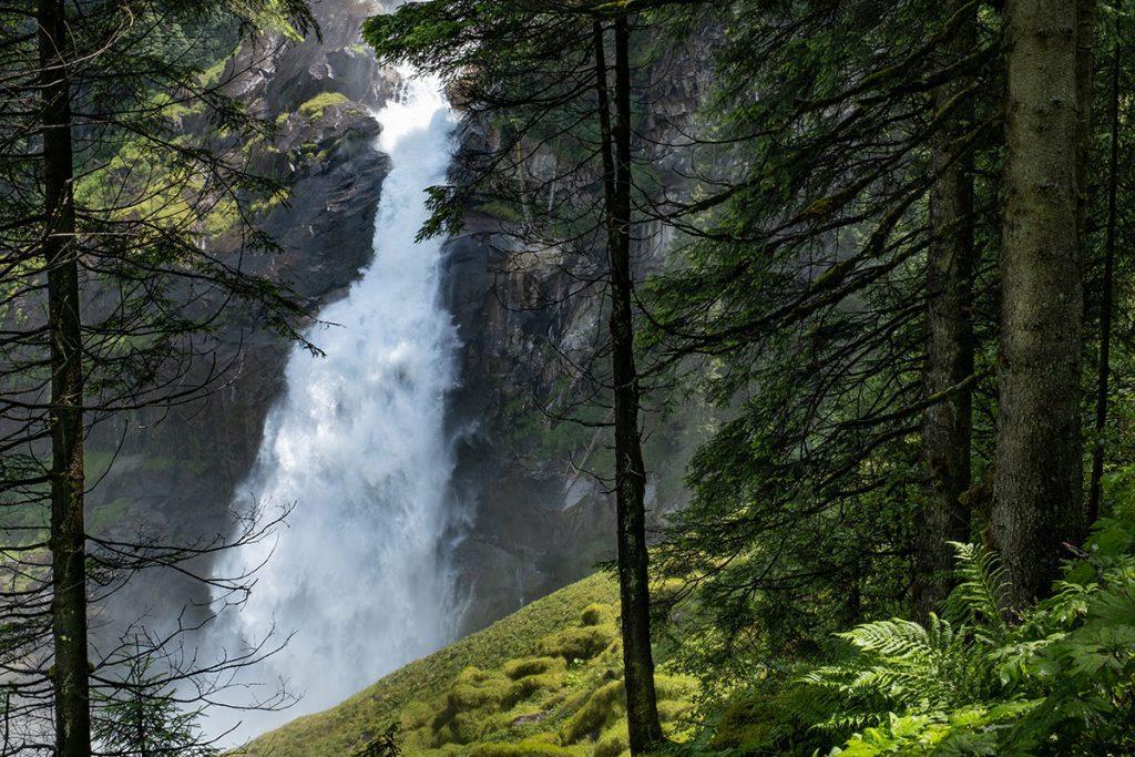 Lower Ache Fall - Krimmler Wasserfälle, grootste waterval van Oostenrijk - Reislegende.nl