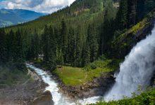 Photo of Krimmler Wasserfälle, grootste waterval van Oostenrijk