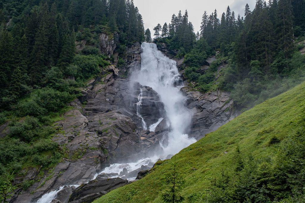 Upper Ache Fall - Krimml watervallen, hoogste waterval van Oostenrijk - Reislegende.nl