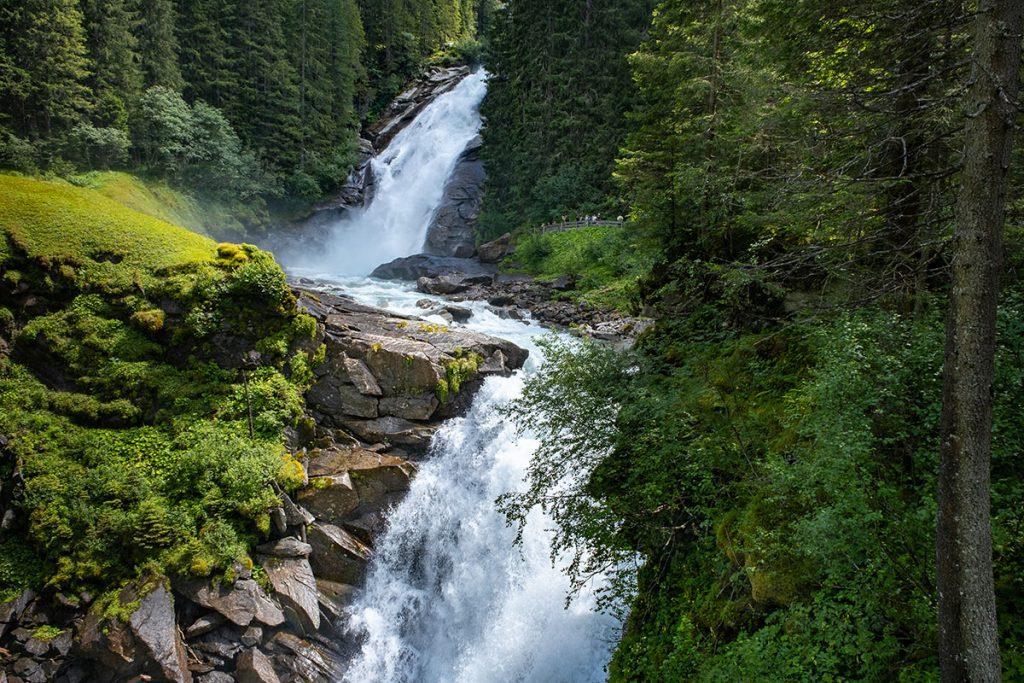 Krimml watervallen, hoogste waterval van Oostenrijk - Reislegende.nl