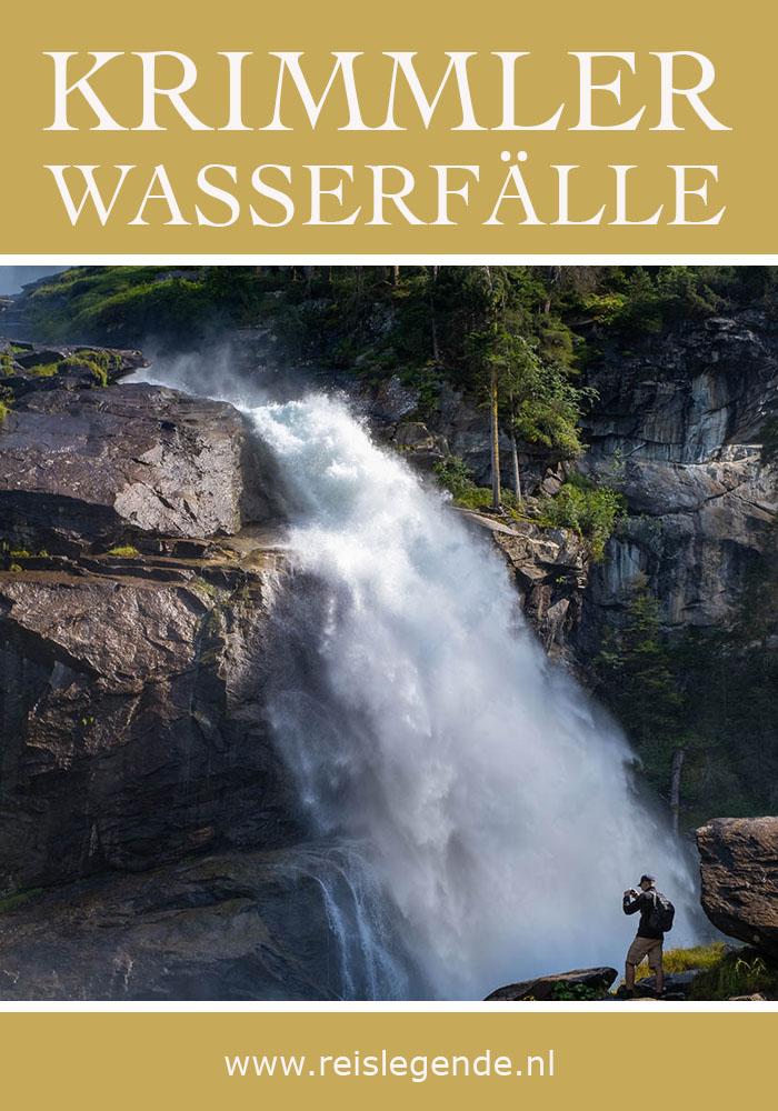 Krimml waterval, grootste waterval van Oostenrijk - Reislegende.nl
