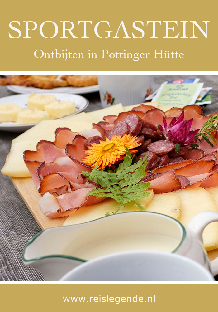 Ontbijten in Pottinger Hütte in Sportgastein Nassfeld, verborgen juweeltje in Gastein - Reislegende.nl