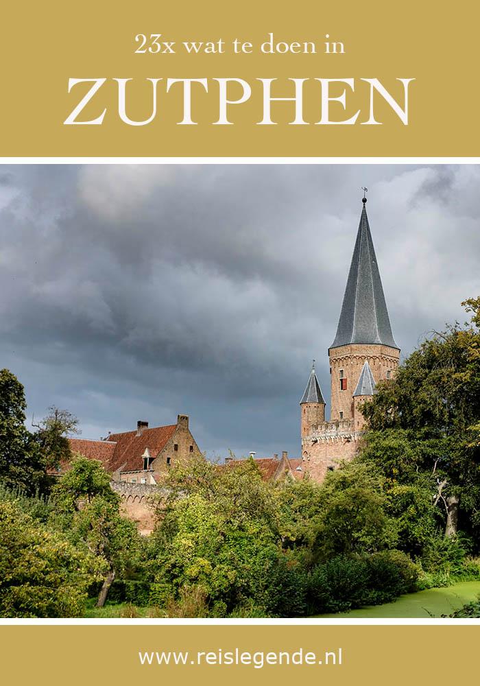 Wat te doen in Zutphen - 23 tips en bezienswaardigheden in Zutphen - Reislegende.nl