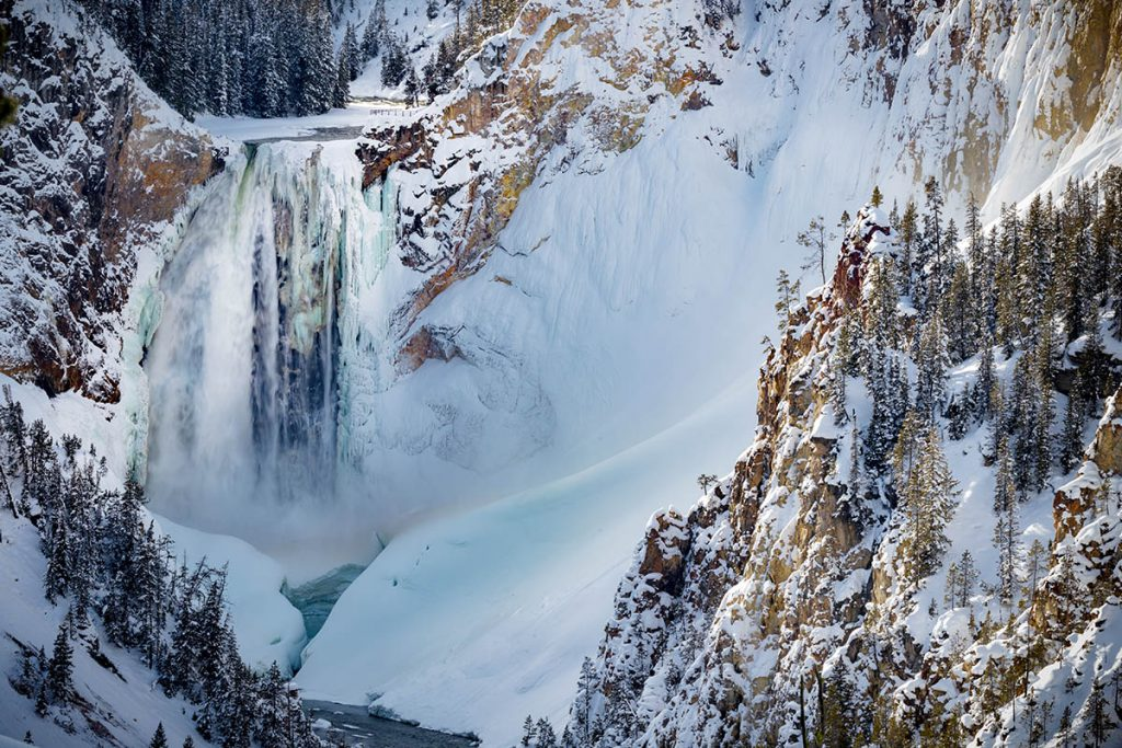 Winter in Yellowstone - Yellowstone National Park: 10x wat je niet mag missen - Reislegende.nl