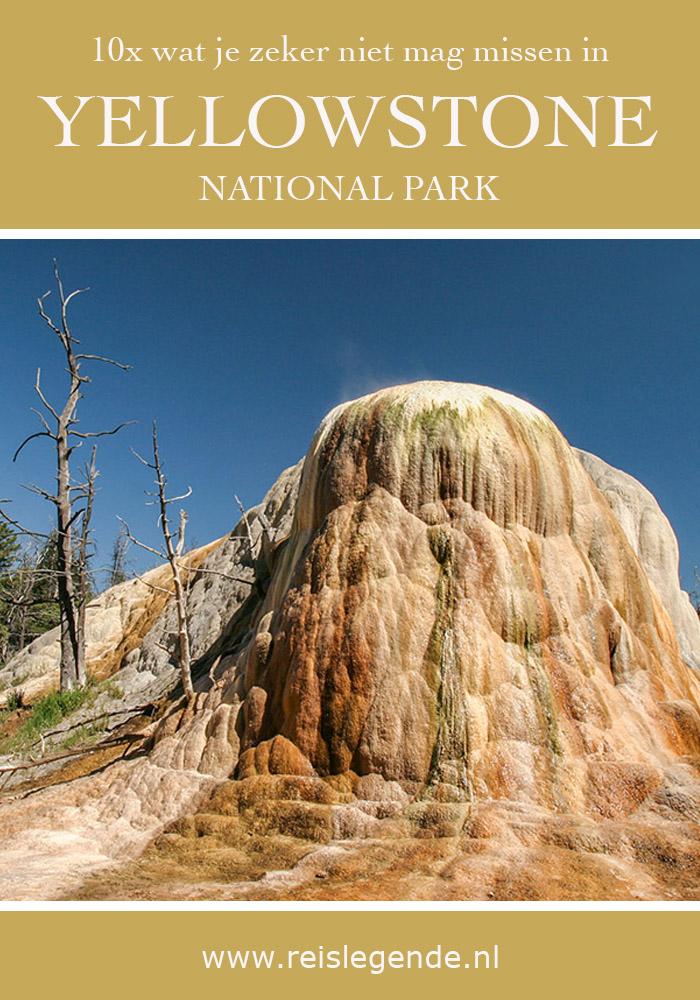 Yellowstone National Park: 10x wat je niet mag missen - Reislegende.nl