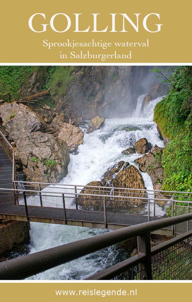 Gollinger Wasserfall, sprookjesachtige plek in Salzburgerland - Reislegende.nl
