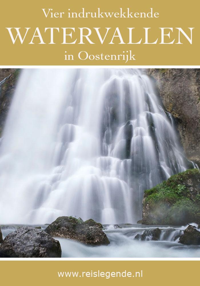 4 indrukwekkende watervallen in Oostenrijk - Reislegende.nl