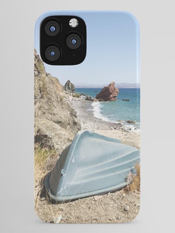 iPhone hoesje met strand en zee - Reislegende.nl