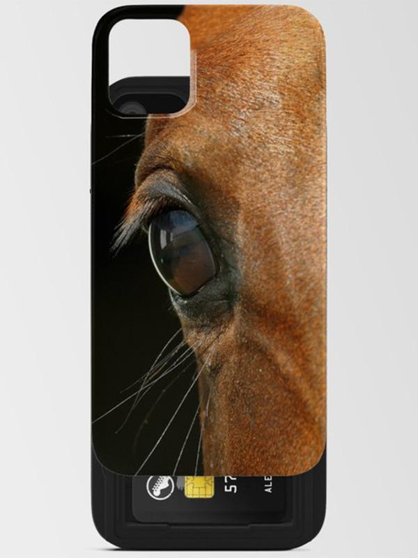 Paarden telefoonhoesje voor iPhone - Reislegende.nl