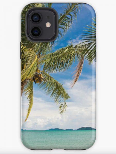iPhone 12 case met palmbomen - Reislegende.nl