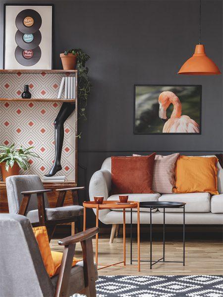 Flamingo art print / flamingo poster - Reislegende.nl