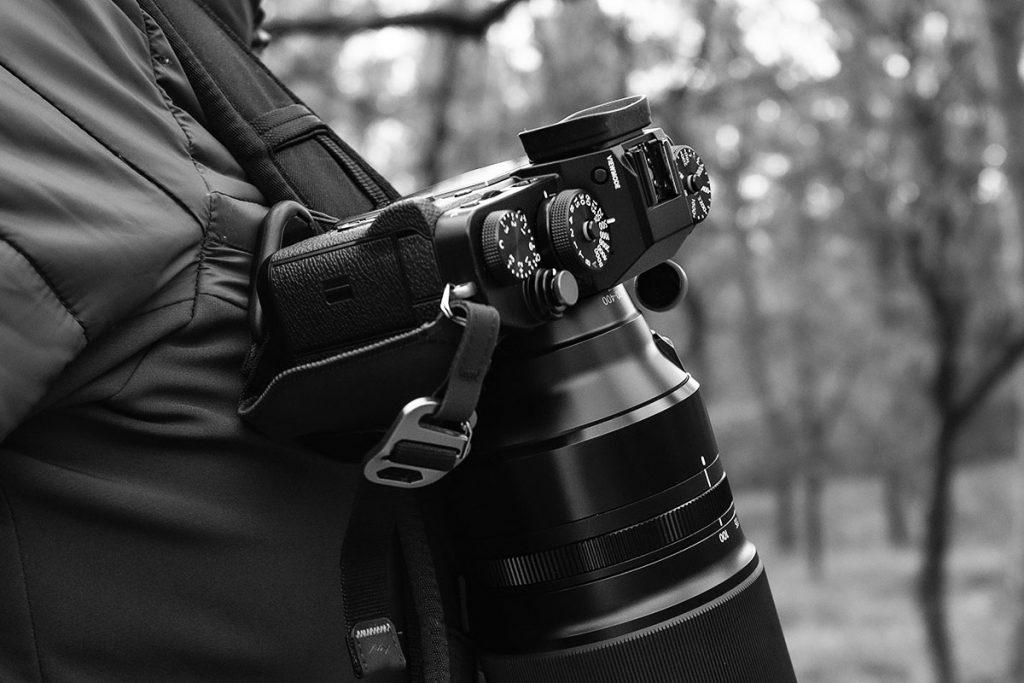 Peak Design camera capture clip gebruiken bij Thule Covert DSLR Backpack 32L - Reislegende.nl