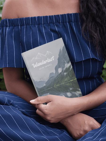 Wanderlust reis notitieboek paperback - Reislegende.nl