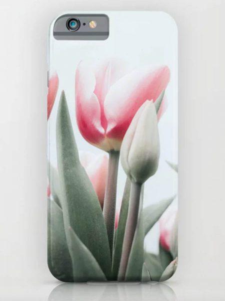 iPhone hoesje met tulpen - Reislegende.nl