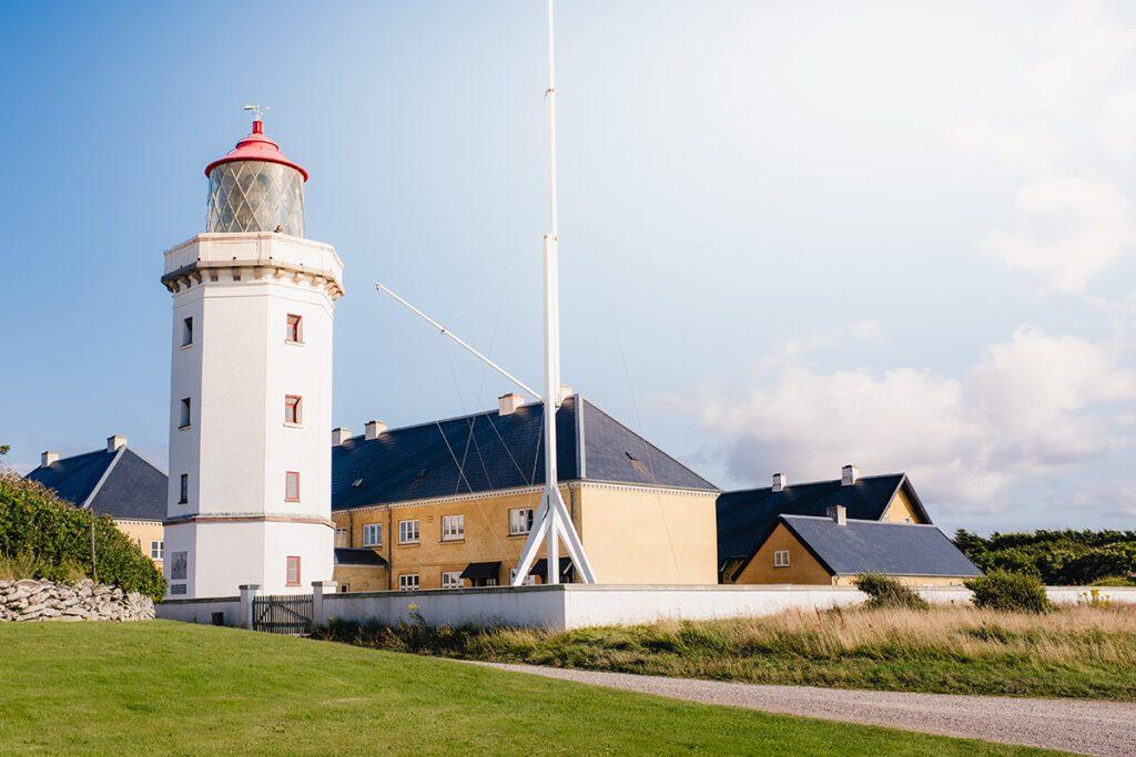 Hanstholm Fyr - Route langs vuurtorens aan de westkust van Denemarken - Reislegende.nl