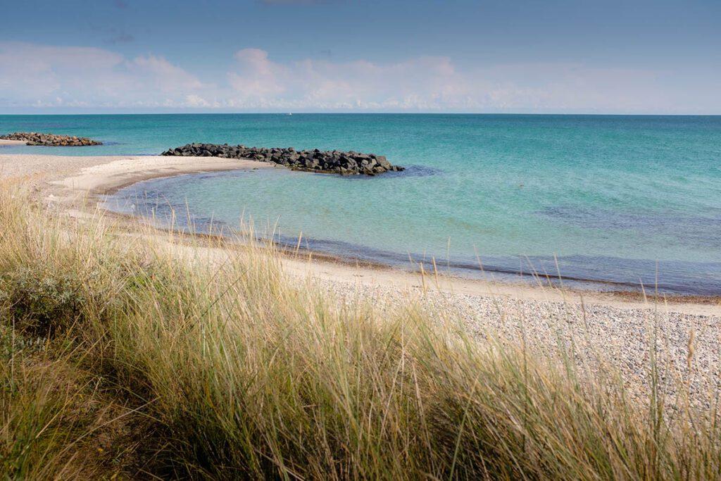 Skagen strand, Noord-Jutland bezienswaardigheden en tips in het noorden van Denemarken